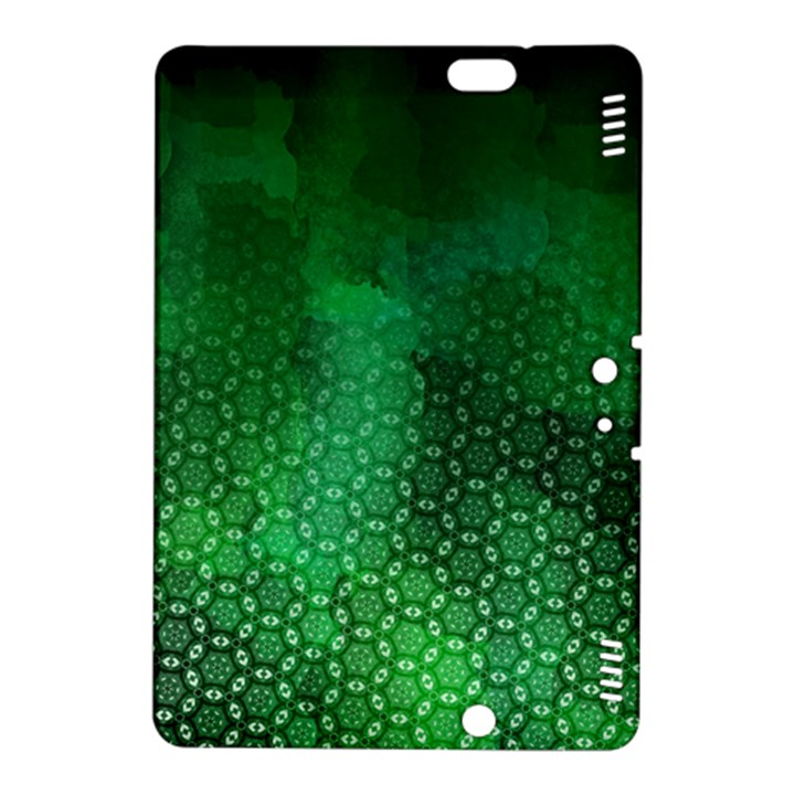 Ombre Green Abstract Forest Kindle Fire HDX 8.9  Hardshell Case