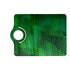 Ombre Green Abstract Forest Kindle Fire Hd (2013) Flip 360 Case