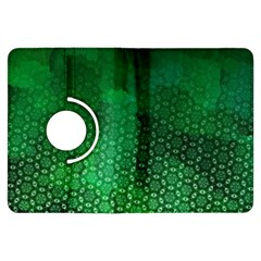 Ombre Green Abstract Forest Kindle Fire HDX Flip 360 Case