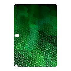 Ombre Green Abstract Forest Samsung Galaxy Tab Pro 10.1 Hardshell Case