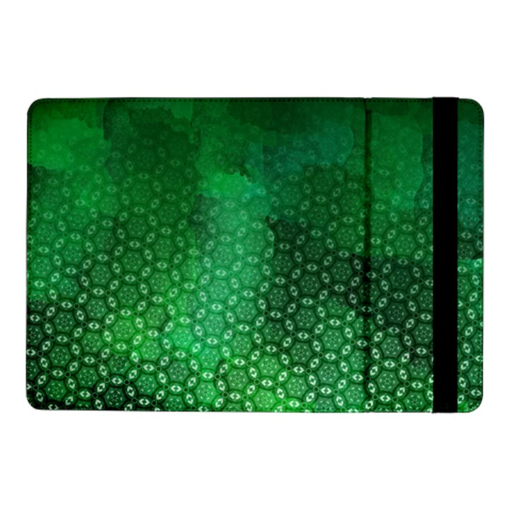 Ombre Green Abstract Forest Samsung Galaxy Tab Pro 10.1  Flip Case