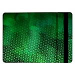 Ombre Green Abstract Forest Samsung Galaxy Tab Pro 12.2  Flip Case Front
