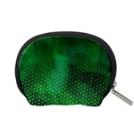 Ombre Green Abstract Forest Accessory Pouches (Small)  Back
