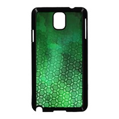 Ombre Green Abstract Forest Samsung Galaxy Note 3 Neo Hardshell Case (Black)