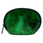 Ombre Green Abstract Forest Accessory Pouches (Medium)  Front