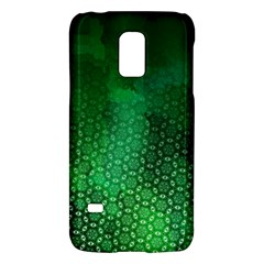 Ombre Green Abstract Forest Galaxy S5 Mini