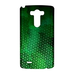 Ombre Green Abstract Forest LG G3 Hardshell Case