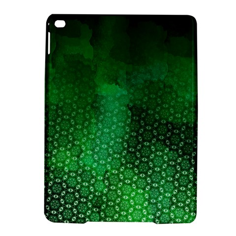 Ombre Green Abstract Forest iPad Air 2 Hardshell Cases