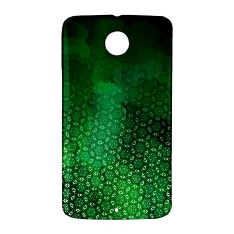 Ombre Green Abstract Forest Nexus 6 Case (White)