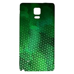 Ombre Green Abstract Forest Galaxy Note 4 Back Case