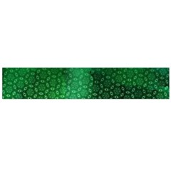 Ombre Green Abstract Forest Flano Scarf (large)