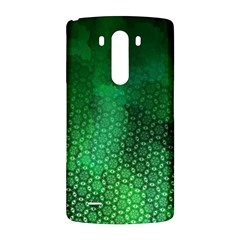 Ombre Green Abstract Forest LG G3 Back Case