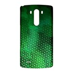 Ombre Green Abstract Forest LG G3 Back Case Front
