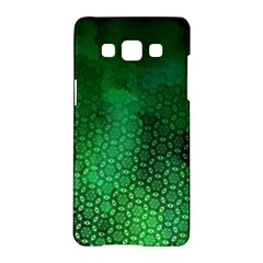Ombre Green Abstract Forest Samsung Galaxy A5 Hardshell Case
