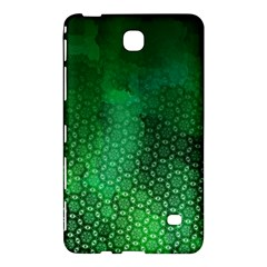 Ombre Green Abstract Forest Samsung Galaxy Tab 4 (7 ) Hardshell Case