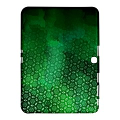 Ombre Green Abstract Forest Samsung Galaxy Tab 4 (10.1 ) Hardshell Case