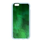 Ombre Green Abstract Forest Apple Seamless iPhone 6/6S Case (Color) Front