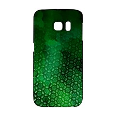 Ombre Green Abstract Forest Galaxy S6 Edge