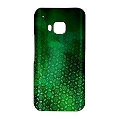 Ombre Green Abstract Forest HTC One M9 Hardshell Case