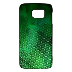 Ombre Green Abstract Forest Galaxy S6