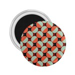 Modernist Geometric Tiles 2.25  Magnets Front