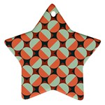 Modernist Geometric Tiles Ornament (Star)  Front