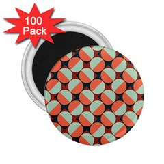Modernist Geometric Tiles 2.25  Magnets (100 pack)