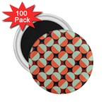 Modernist Geometric Tiles 2.25  Magnets (100 pack)  Front