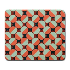 Modernist Geometric Tiles Large Mousepads