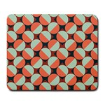 Modernist Geometric Tiles Large Mousepads Front