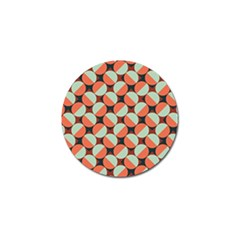 Modernist Geometric Tiles Golf Ball Marker (10 pack)