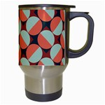 Modernist Geometric Tiles Travel Mugs (White) Right