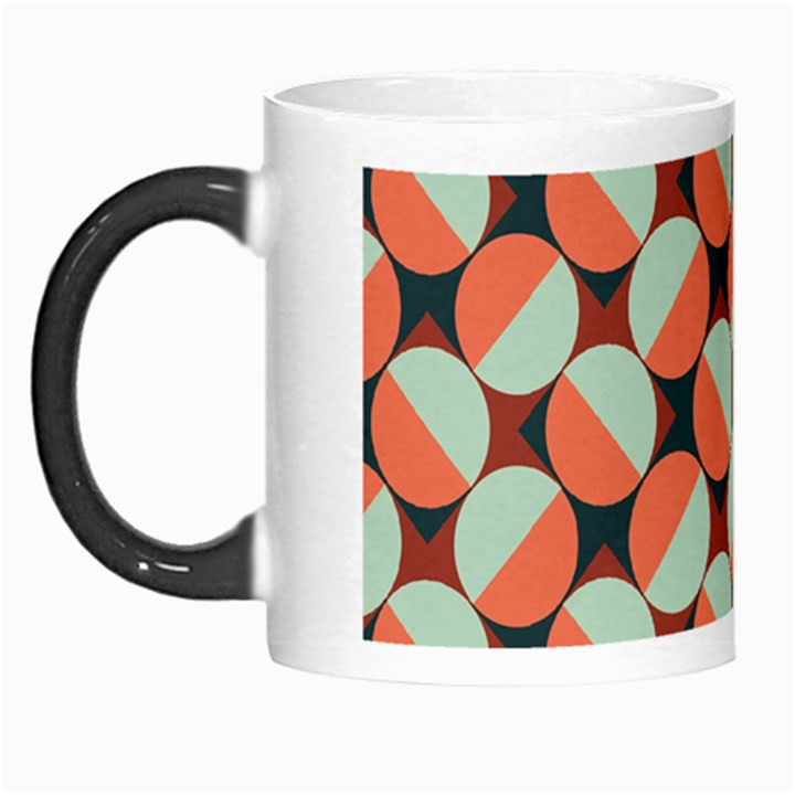 Modernist Geometric Tiles Morph Mugs