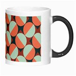 Modernist Geometric Tiles Morph Mugs Right