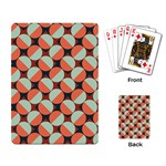 Modernist Geometric Tiles Playing Card Back