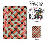 Modernist Geometric Tiles Playing Cards 54 Designs  Front - Joker2
