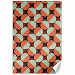 Modernist Geometric Tiles Canvas 24  x 36  36 x24 Canvas - 1