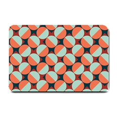 Modernist Geometric Tiles Small Doormat