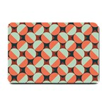 Modernist Geometric Tiles Small Doormat  24 x16 Door Mat - 1