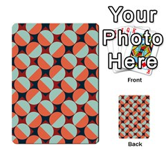 Modernist Geometric Tiles Multi Purpose Cards (rectangle)