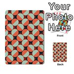 Modernist Geometric Tiles Multi-purpose Cards (Rectangle)  Back 9