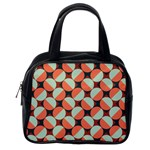 Modernist Geometric Tiles Classic Handbags (One Side) Front