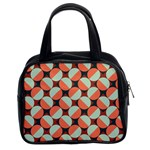Modernist Geometric Tiles Classic Handbags (2 Sides) Front