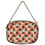 Modernist Geometric Tiles Chain Purses (One Side)  Front