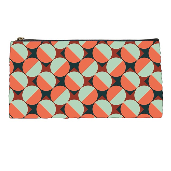 Modernist Geometric Tiles Pencil Cases