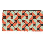 Modernist Geometric Tiles Pencil Cases Back