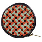 Modernist Geometric Tiles Mini Makeup Bags Front