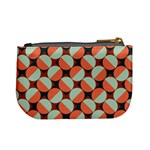 Modernist Geometric Tiles Mini Coin Purses Back