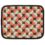 Modernist Geometric Tiles Netbook Case (XXL)  Front