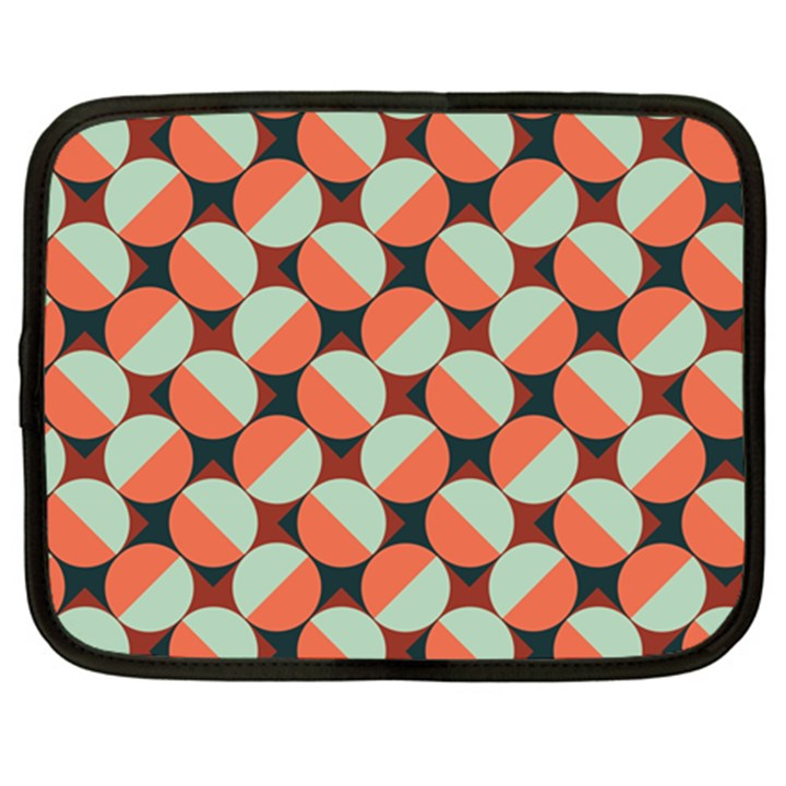 Modernist Geometric Tiles Netbook Case (XXL)